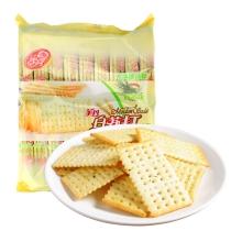 美丹 白苏打鲜葱味 饼干 450g(18小包)小零食