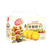 美丹 早餐鸡蛋 饼干 1000g(42包)小零食