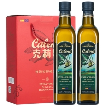 克莉娜 特级初榨橄榄油礼盒500ml*2