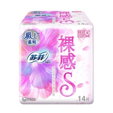 苏菲 裸感S日用23cm 14片 卫生巾