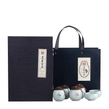 以岭 连王古茶代用茶(尊享) 买即送价值380元  连王古茶 大红盒装(礼盒)200g/盒