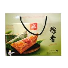蓝白食品 粽香2kg 端午 粽子 预定中