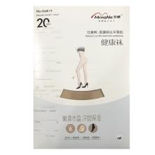 梦娜 20D任意剪面膜钢丝苹果裆健康袜G6819-浅肤 袜