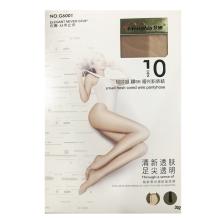 梦娜 10D轻呼吸裸BB哑光粉底袜G6001-浅肤 袜