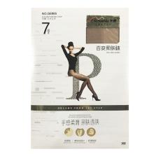 梦娜 7D单加裆任意剪百变柔肤袜G6806-浅肤 袜