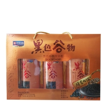 月皇山 黑色谷物营养粉810g(270克*3瓶)礼盒 谷物 营养粉