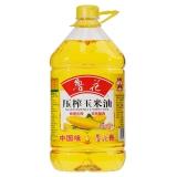 鲁花 压榨玉米油 5L
