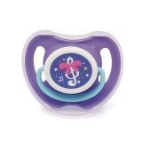 贝亲 时尚精灵安抚 奶嘴 M号(紫色音符) 奶嘴