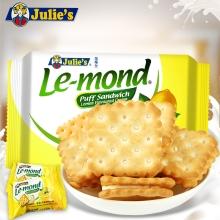 茱蒂丝雷蒙德柠檬夹心饼干170g 小零食
