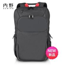 内野Uchino双肩包UC-B008  黑色 旅行必备