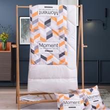 竣程 棉麻抱枕(被)-美好时光 40*40cm 家纺