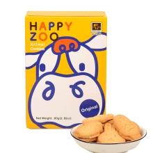 烘焙客 牛奶动物造型饼干 80g 小零食