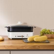 伊莱克斯 电烤炉 EGHP5020 多功能料理锅分体式涮烤一体锅 品质生活
